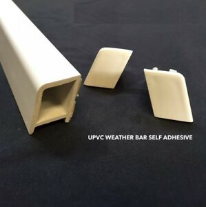 Image is loading UPVC-WEATHER-BAR-DOOR-DRIP-RAIN-DEFLECTOR-3- & UPVC WEATHER BAR DOOR DRIP RAIN DEFLECTOR 3 COLOURS AVALABLE | eBay