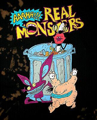 Rare Angry Reptar Rugrats Godzilla Parody T-Shirt New NOS MD Nickelodeon Cartoon