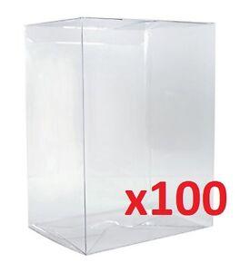 FUNKO-POP-4-034-VINYL-BOX-PROTECTOR-Radical-Retro-Strong-Stackable-Auto-Lock-x100