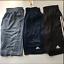 ADIDAS-Men-Designed-to-Move-3Stripe-Zip-Shorts-Conavy-Rawste-Black-M-LXL-XXL-NWT thumbnail 1