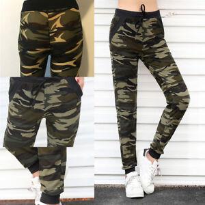 Pantalon De Camouflage Taille Haute Pour Femmes Pantalon De Sp FE