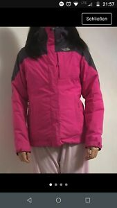huge selection of fd1e7 ddc1c Details zu The North face Jacke all weather Jacke 2 in 1 pink Gr. S mit  Innenjacke