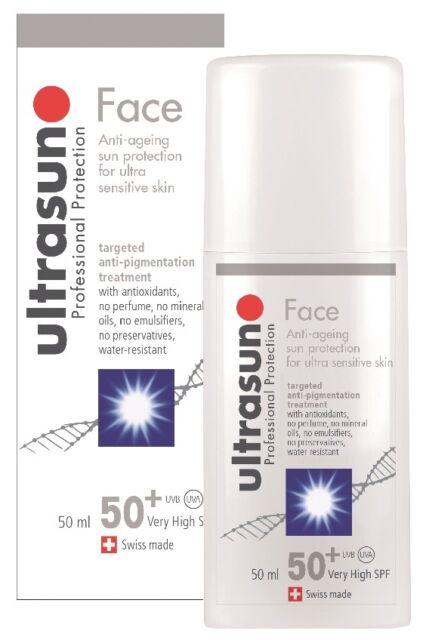 Ultrasun Face Anti-Pigmentation SPF 50+ 50ml Sun Lotion Cream Anti-Ageing