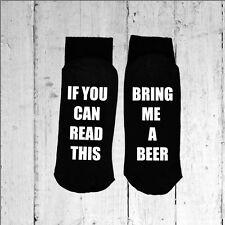 Se è possibile leggere questo/PORTAMI una birra-stampato sulla suola Taglia 6-12