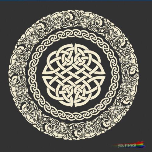 Celtic Knot Mandala  Stencil ST95 Large