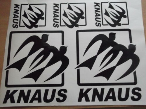 5x Knaus Autocollant Set Petit ensemble