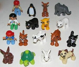 LEGO-NEW-DUPLO-ANIMALS-PUPPY-DOG-BUNNY-LION-BEAR-PETS-YOU-PICK-WHICH-ANIMALS