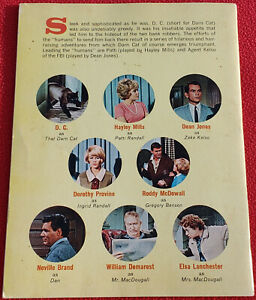 1965 Disney's That Darn Cat Featuring Hayley Mills Golden Press Jumbo Photo Book