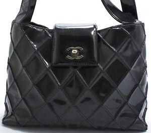 chanel tasche bag elegante matelace schultertasche. Black Bedroom Furniture Sets. Home Design Ideas