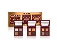 Lorac The Royal Eye Shadow Palette Set Of 3 Plum Velvet Gold Satin Silver Silk
