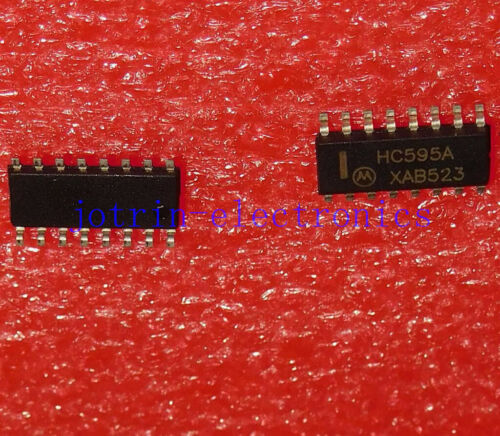 10 PCS HC595A SOP-16 8-bit serial-in//serial or parallel-out shift register with