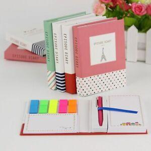 School Supplies Diary Kawaii Stationery