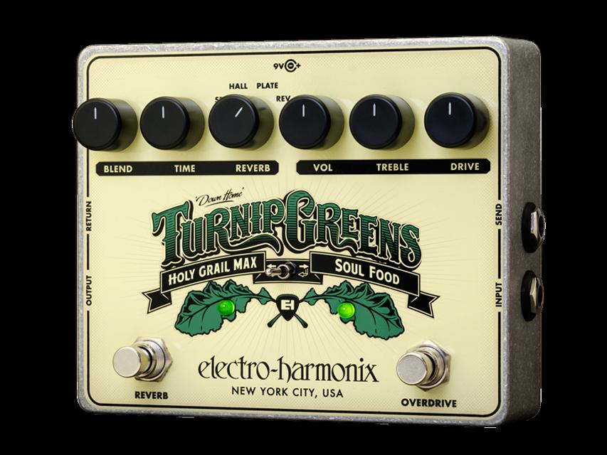EHX Electro-Harmonix Turnip Grüns Multi-effect Guitar Effects Pedal