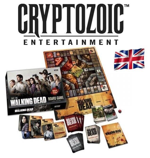 Cryptozoic - walking dead - juego de mesa tv - serie - nuevo   emp.ur -