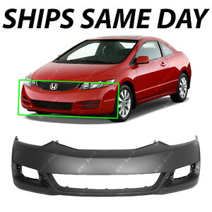 Image Is Loading Primered Front Bumper Cover Fascia For 2009 2010