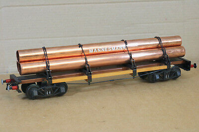 Aster Kit Built G Gauge 1 Spur 1 Dr Db Mannesmann Rungenwagen With Pipe Load Nl Sapore Fragrante (In)