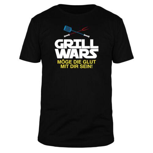 Fabtee GRILL Wars possa la GLUT con te essere grigliare BBQ bistecca Uomini Maglietta FUN