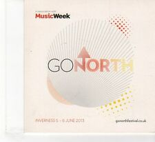 (FR186) Music week Presents: Go North, 12 tracks various artists - 2013 CD
