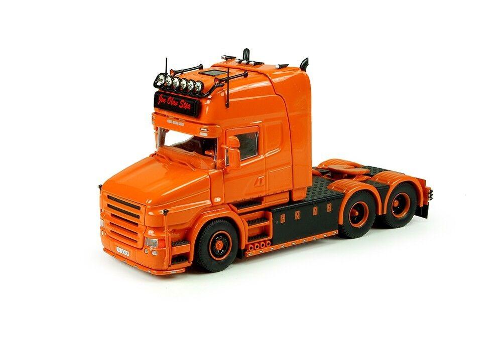 Techno 70911 scania t5 topline tracteur solo 6x2 kongsberg (norvege) - box
