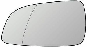 Vetro-SPECCHIO-SINISTRA-cromo-aspharisch-Riscaldabile-Opel-Astra-H