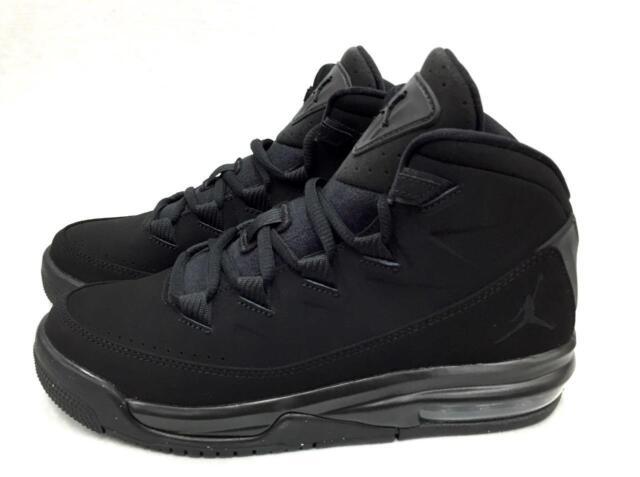Nike Jordan Air Deluxe GS Big Kids 807718-010 Black Basketball Shoes ... 88b7036e4