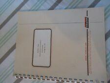 Collectable Rare Tracor 304b Rubidium Frequency Standard Manual Ampbibli