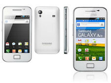 NEW SAMSUNG GALAXY ACE WHITE 3G LTE WHITE MOBILE PHONE UNLOCKED UK
