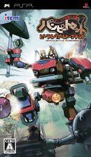 Used PSP Poncotsu Roman Daikatsugeki Bumpy Trot: Vehicle Battle Tournament Japan
