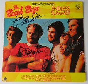 The Beach Boys Concert Album Signed by Mike Love Lp AUTOGRAPH Signature Vinyl Record Autogragphed Signed Lp Record Album