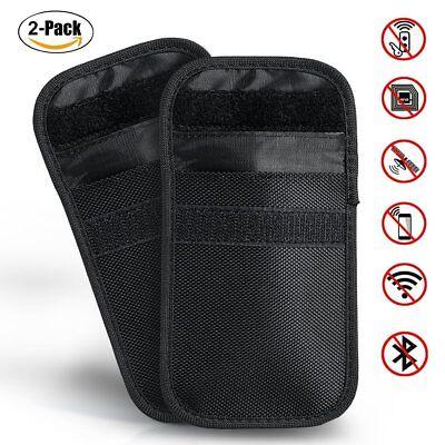 RFID Signal Blocking Bag Keyless Remote Holder Pouch Wallet Case for Car Key Fob