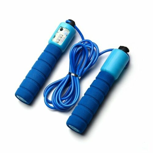 Sponge Jump Rope with Electronic Counter 2.9m Adjustable Fast Speed Counting