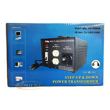 PHC TC-1000A Step-Up & Step-Down Power Transformer 1000 Watts