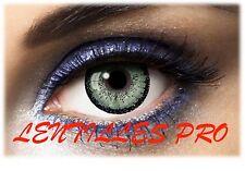 lentilles de couleur  big eyes 15Mn verte 1 ans utilisation   contact lenses