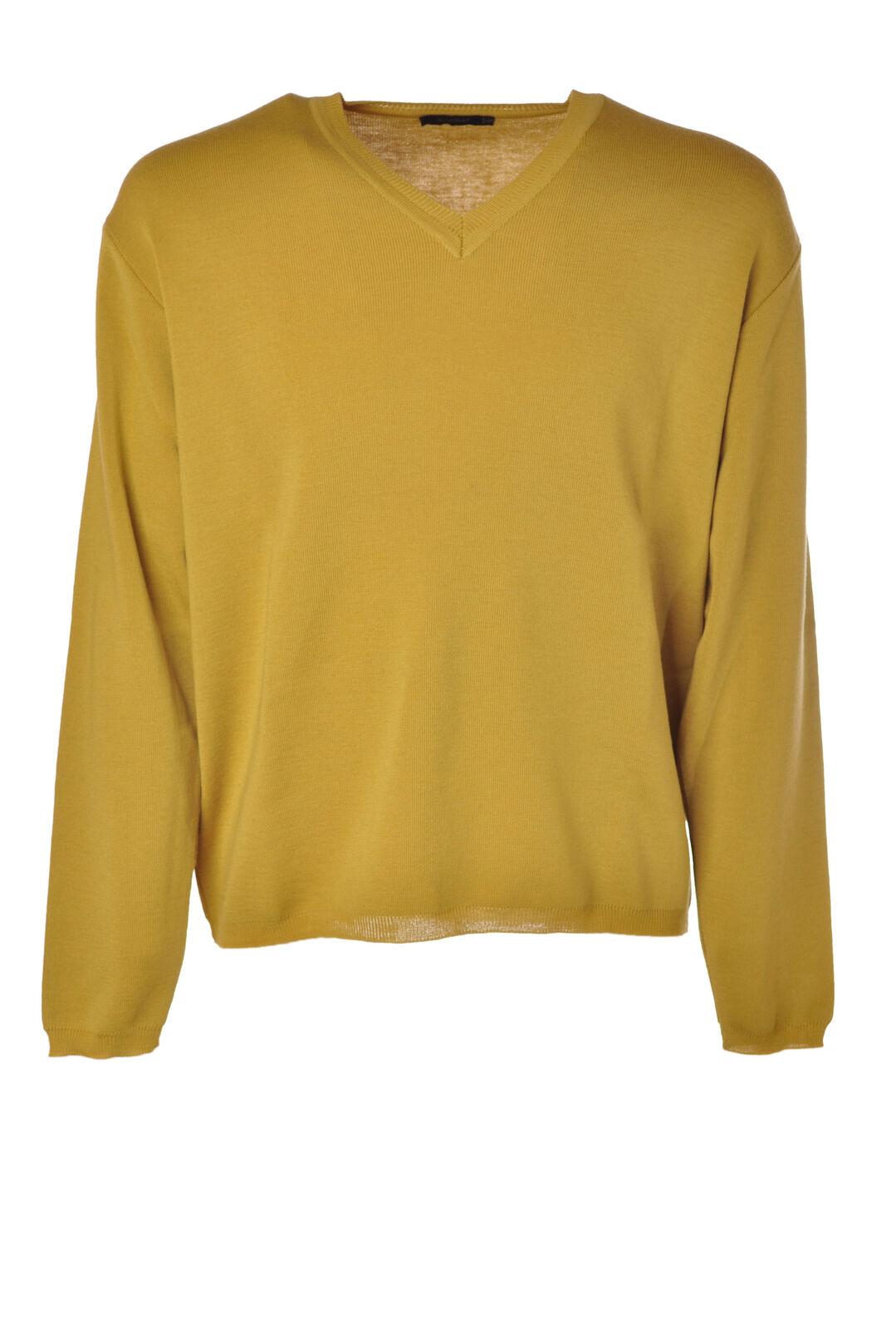 Almeria  -  Sweaters - Male - Yellow - 2834831N174058