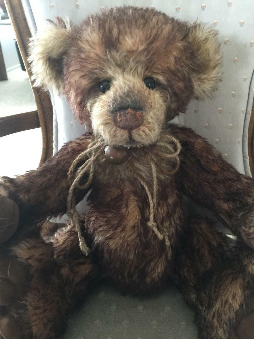 Charlie Bears NUZZLE 2013 Isabelle Mohair Collection FREE US SHIP