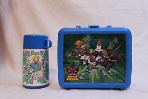 Disney Mighty Ducks Aladdin Lunch Box with Thermos Vintage