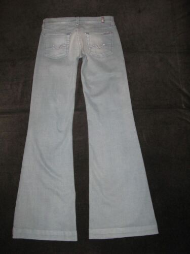All Basse Taille Sz 26 7 Pâle Bleu Gingembre Jeans For Extensible W Mankind Sx5nwOq