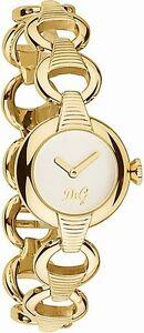 D-amp-G-Dolce-amp-Gabbana-DW0343-Women-039-s-Yellow-Gold-Watch