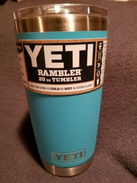 Yeti Cup Prices >> Color Reef Blue Yeti 20 Oz Rambler Tumbler With Magslider Lid