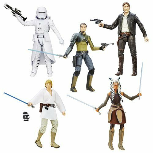 Star Wars:TFA The Black Series 6-Inch Action Figures Wave 6 Case In Stock!
