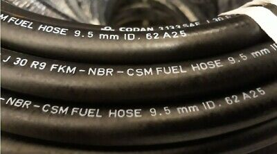 7.9mm ID CODAN SAE J30 R9 Petrol Ethanol Fuel Hose VW Jaguar BMW Mercedes AUDI