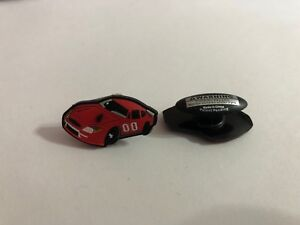Red-Race-Car-Shoe-Doodle-for-holes-in-Rubber-Shoes-or-Crocs-Shoe-Charm-PSC203
