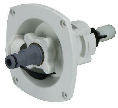 Caravan Mains Water Pressure Reducer INCLUDES Hose Tail for Garden Hose 65 PSI