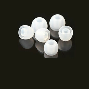 100Pcs-Small-Sized-Clear-Silicone-Earphone-Earbud-Replacement-Tips-Covers-NN-RF