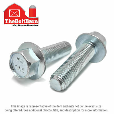 Small Head Class 10.9 Zinc M8-1.25 x 70mm JIS Hex Head Flange Bolt 15
