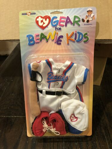 Ty Gear for Beanie Kids Outfit Clothes Baseball New