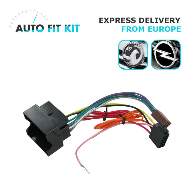 VAUXHALL OPEL Wiring Lead Harness Adapter ISO Car Radio Replacement Plug  Adaptor for sale online   eBay  eBay