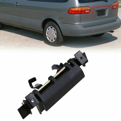 for Toyota Sienna Sequoia Tailgate Liftgate Rear Side Back Door Handle Black Kit