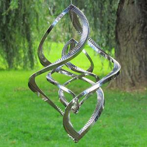 Windspiel butterfly spinner gro edelstahl hochwertige for Windspiel edelstahl garten