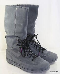 Nike Storm Warrior Hi Women s Boots Dark Grey Dark Grey-Berry 407482 ... 692730e3b1